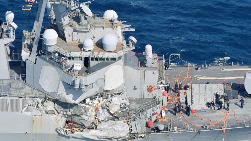 В Японском море продолжаются поиски пропавших военных моряков США
