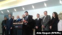 Snimak sa prošlosemičenog okupljanja političkih stranka o formiranju vlasti u Kantonu Sarajevo