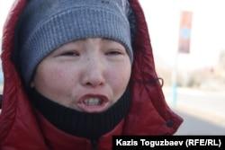 Жительница города Жанаозен Сандугаш Аманжолова после декабрьских событий 2011 года.