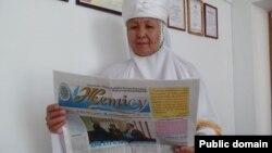 """Алматы облыстық """"Жетісу"""" газетінің сайтынан алынған сурет."""