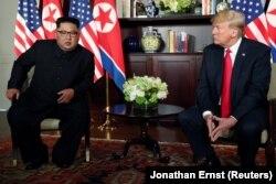 Takimi mes dy liderëve në Singapur, qershor 2018