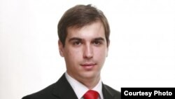 Диме Спасов, претседател на Унија на млади сили на ВМРО - ДПМНЕ