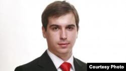 Диме Спасов, претседател на Унија на млади сили на ВМРО-ДПМНЕ.