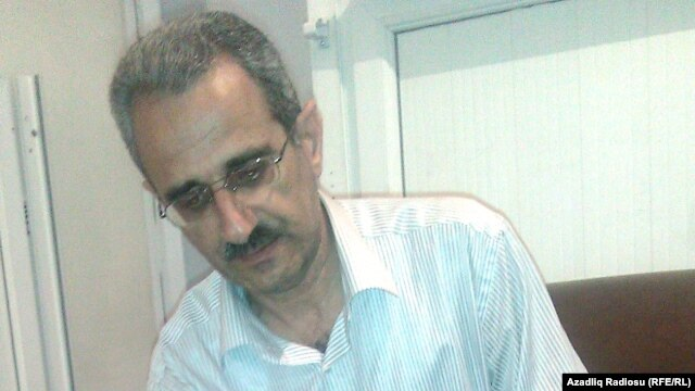 """""""Voice of the Talysh"""" editor Hilal Mammadov in a June 2012 photo"""
