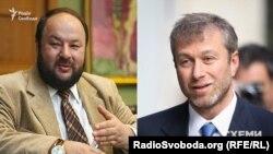 Російський бізнесмен Валерій Абрамсон (ліворуч) та російський олігарх Роман Абрамович