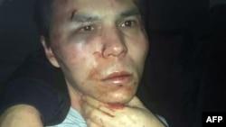 Распространенное полицией Турции фото задержанного, которого подозревают в совершении атаки на ночной клуб Reina.