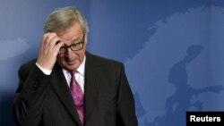 Председатель Европейской комиссии Жан-Клод Юнкер. Брюссель, 25 октября 2015 года.