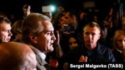 Сергій Аксенов у Керчі, 17 жовтня 2018 року