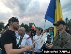 Romania - Proteste anticorupție la București, toba 12 mai 2018