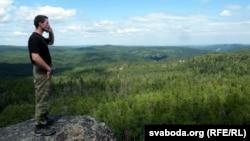 Таёжны «гід» Васіль Анісімаў