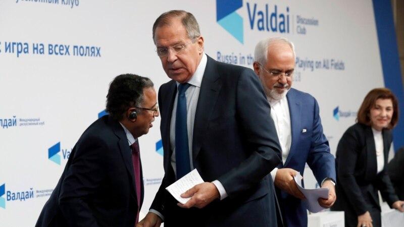 انتقاد صریح لاوروف از سخنان سلیمانی در مورد «نابودی اسرائیل» در حضور وزیر خارجه ایران