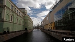 St. Petersburg's Old And New Mariinsky Theaters