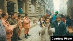 Tələbələrin yürüşü, 1992
