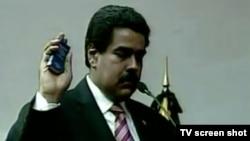 Nikolas Maduro polaže zakletvu