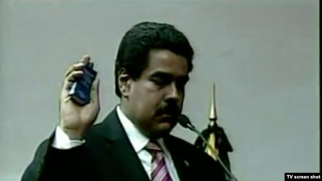 Nicolas Maduro was sworn in March 8 as Venezuela's acting president.
