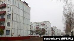 У пасёлку Балбасава пад Воршай, 1 лістапада 2018 году