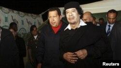 د لیبیا وژل شوی مشر معمر القذافي.