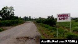İmişlinin Ağaməmmədli kəndi