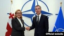 Встречей с генсеком НАТО новый министр иностранных дел Грузии довольна. По словам Тамар Беручашвили, с Йенсом Столтенбергом речь шла о приоритетных для Грузии вопросах