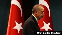 رجب طیب اردوغان، از ماه اوت سال ۲۰۱۴ رییس جمهوری ترکیه است.