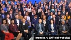"""Владимир Путин проводит итоговое заседание """"Народного фронта"""""""