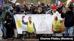 Demonstranti obeležavaju prvu godišnjicu od izbijanja protesta
