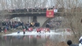 Инцидент при скокањето по светиот крст во реката Брегалница во Штип