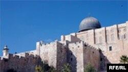 نمایی از مسجد الاقصی، اسراییل اعلام کرده عملیات بازسازی شهر قدیم اورشلیم، آسیبی به این مسجد وارد نمی کند.