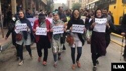 به گزارش اتحادیه آزاد کارگران ایران، اعضای خانواده شماری از کارگران گروه ملی صنعتی فولاد ایران در راهپیمایی و تجمع روز سهشنبه شرکت داشتند