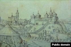 Рэчыцкі замак. 1649 год