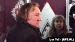 Жерар Депардье в Мордовском краеведческом музее