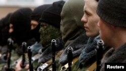 Проросійська «самооборона» Криму. Сімферополь, травень 2014 року