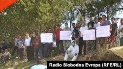 Протести на жителите од Осломеј поради загадувањето на животната средина