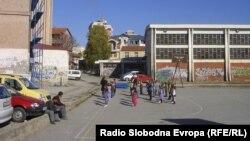 """Основното училиште """"Браќа Миладиновци"""" во Куманово."""