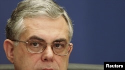 Former European Central Bank Vice President Lucas Papademos was picked to head a caretaker Greek government as it battles the threat of debt default.