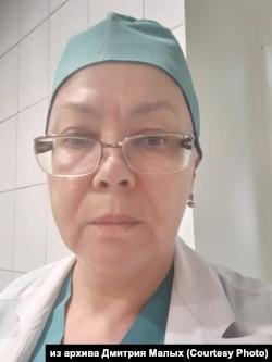 "Анестезиолог-реаниматолог ЧУЗ ""КБ ""РЖД-Медицина"" Светлана Бурим"