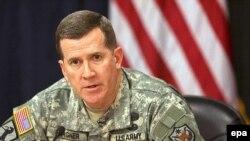 ژنرال برگنر، سمت سخنگویی ارتش آمریکا را به عهده دارد.