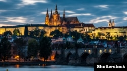 Podul lui Carol şi Hradul din Praga