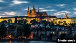 Pamje nga një pjesë e Pragës