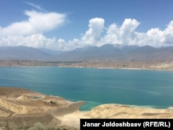 While the Toktogul reservoir is a source of domestic power for Kyrgyzstan, its water is needed in two other countries.
