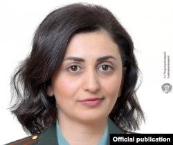 Purtătoarea de cuvânt a Ministerului Apărării de la Erevan, Shushan Stepanian