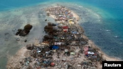 Последствия тайфуна в Филиппинах