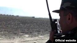 Ադրբեջանի բանակը զորավարժություններ է անցկացնում, 1-ը մայիսի, 2014թ․