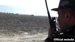 Учения азербайджанской армии на линии соприкосновения, май 2014 г․