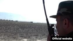Ադրբեջանի բանակի զորավարժությունները շփման գծի մերձակայքում, մայիս, 2014թ․