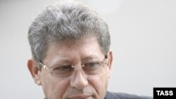 Acting Moldovan President Mihai Ghimpu