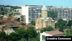Армянская церковь Сурб Эчмиадзин в тбилисском квартале Авлабар