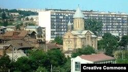 Սուրբ Էջմիածին հայկական եկեղեցին Թբիլիսիի Հավլաբար թաղամասում