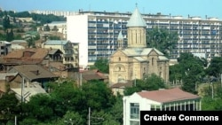 Грущия - Армянская церковь Сурб Эчмиадзин в тбилисском квартале Авлабар (архив)