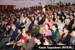 Үкіметтік емес ұйымдардың 6-форумы. Алматы, 6 қазан 2010 жыл. (Көрнекі сурет)